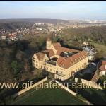 photo aérienne Abbaye Limon Vauhallan