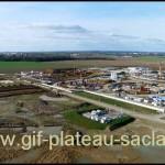 vue aérienne plateau de saclay