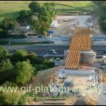 Travaux pour le pont de l'express 91-06